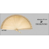 Abanico Ceremonia Swarovski