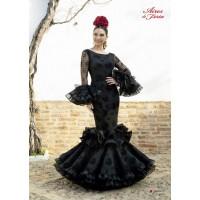 Traje de flamenca Abanico