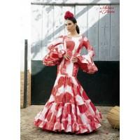 Traje de flamenca Angela