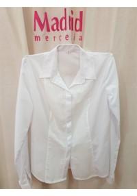 Camisa señora jareta manga larga