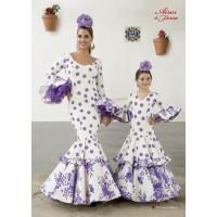 Traje de flamenca Picasso & Tulipan